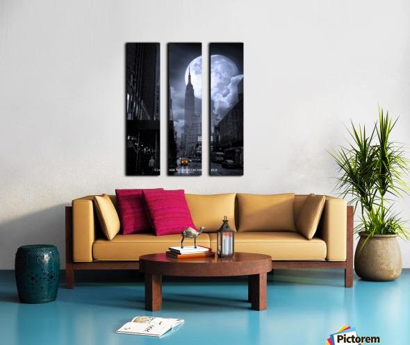 Empire2 Split Canvas print