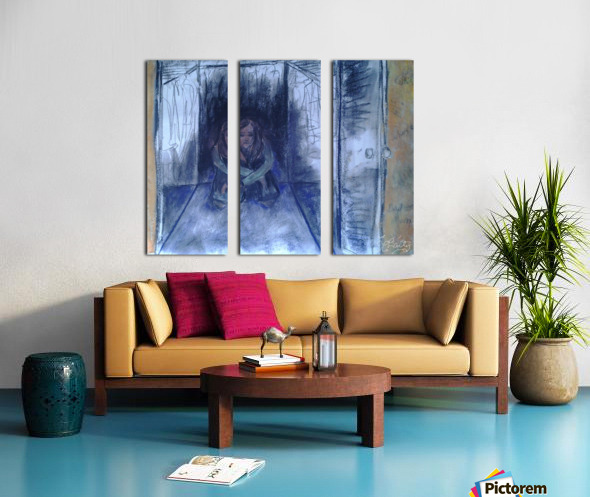 The Shame Closet Split Canvas print