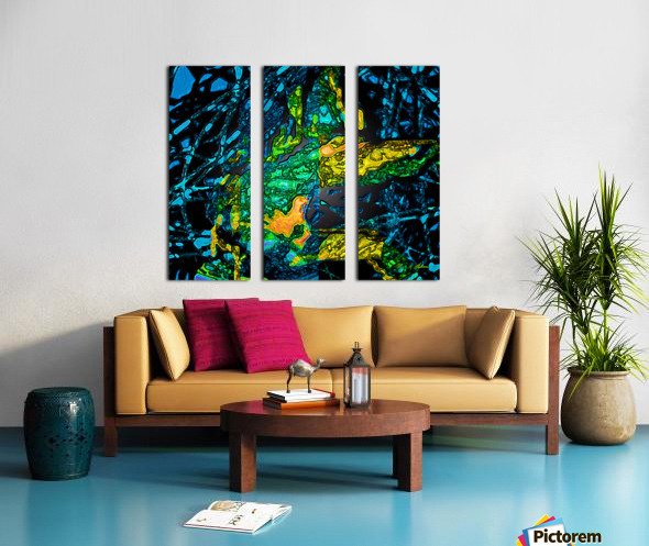 Tangled Transformation 4 Split Canvas print
