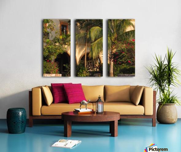 Lush and Beautiful  Split Canvas print