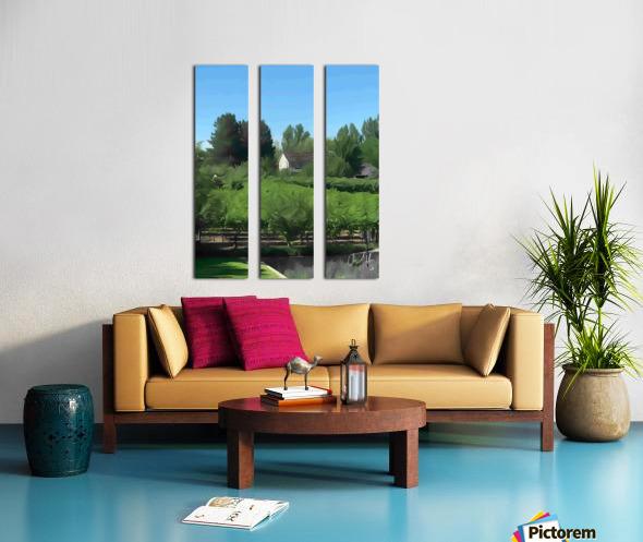 Fields of Green Split Canvas print