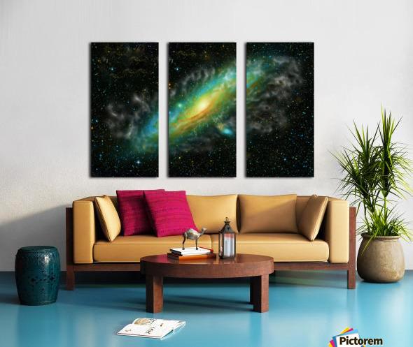 A Trillion Stars   Split Canvas print
