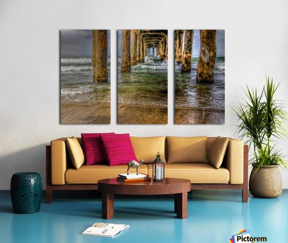 Gateway To The Sea Split Canvas print