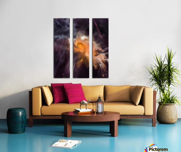 Painting The Heavens Split Canvas print
