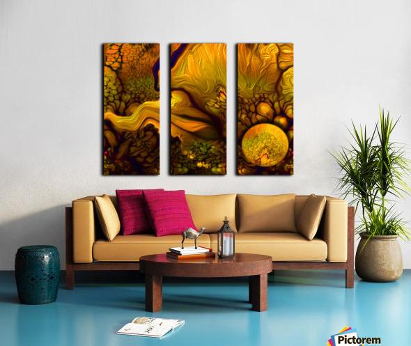 Pollens Summer Glow 2 Split Canvas print