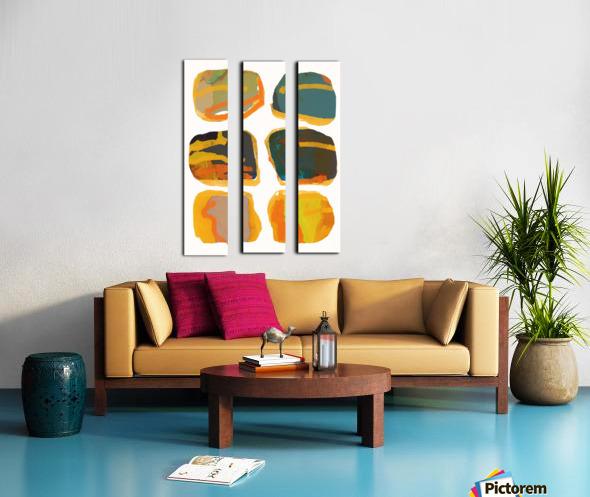 les Precieuses  Split Canvas print