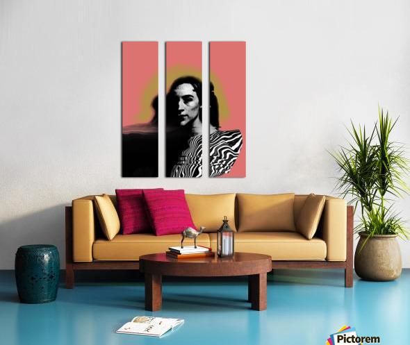 Je serai toujours la  Split Canvas print