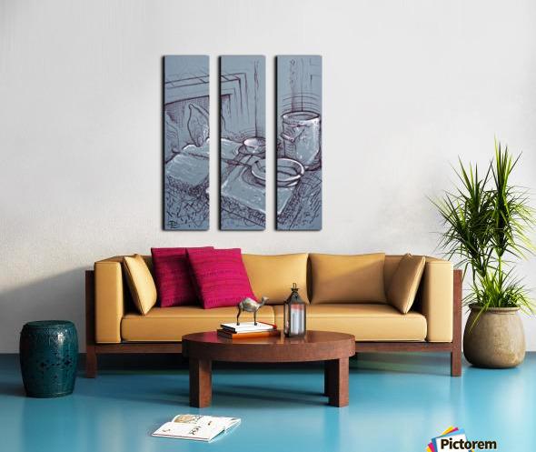 Drenthe Corner  Split Canvas print