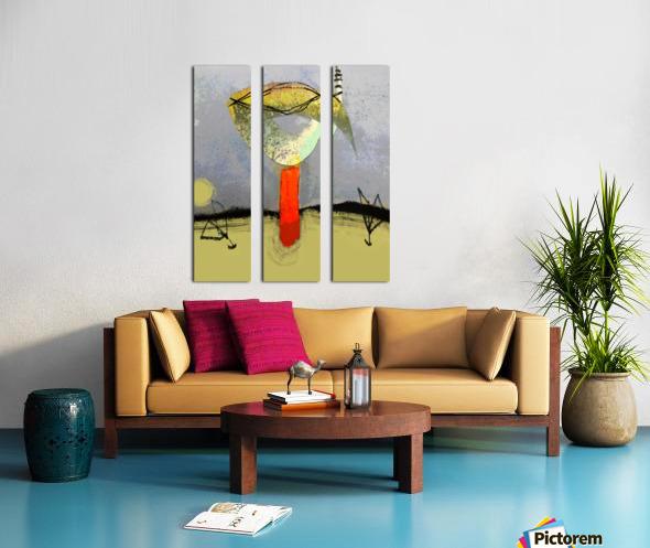 Cokoriko Split Canvas print