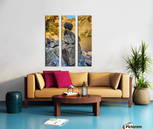 Emerald Lake  Split Canvas print