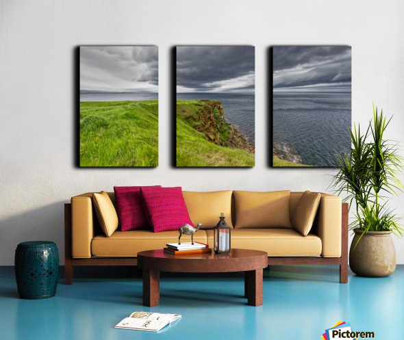 Cheticamp Island Drama Split Canvas print