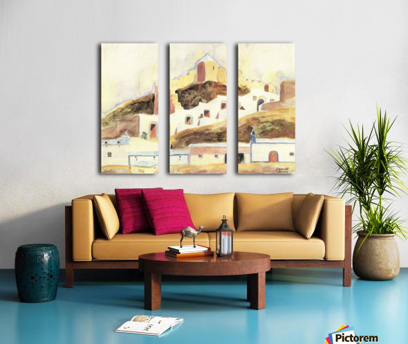 Almeria II by Walter Gramatte Split Canvas print