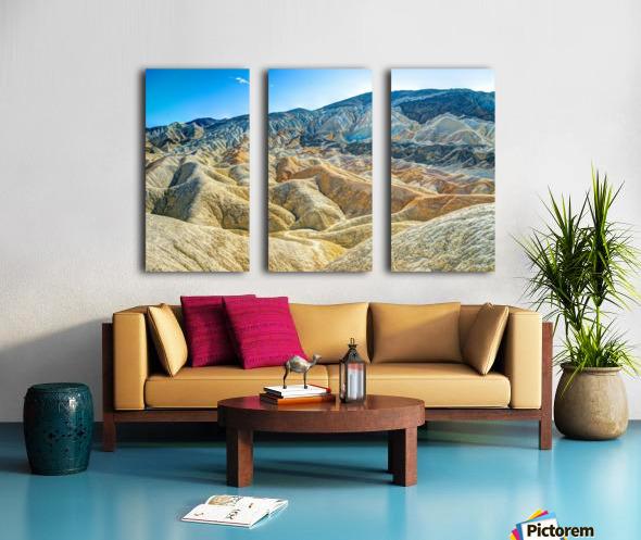 Death Valley Waves Toile Multi-Panneaux