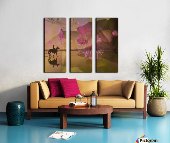 ARTCHEVALFLEURAGC16000 Split Canvas print