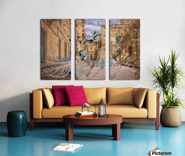 ARTFEMVILLE4088AGC17000 Split Canvas print