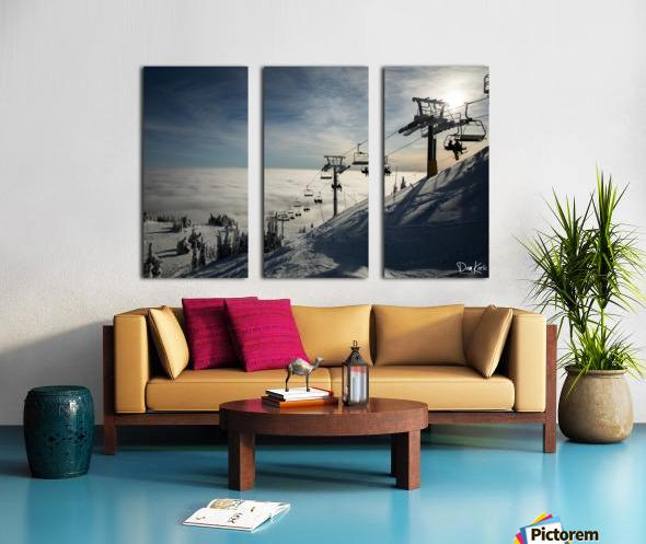 Dec 31 Print 8 Split Canvas print