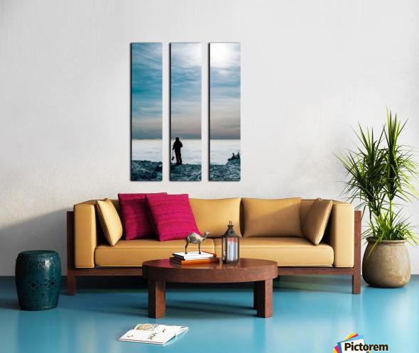 Awe Split Canvas print