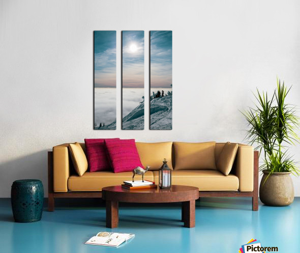 Soft Illumination  Split Canvas print