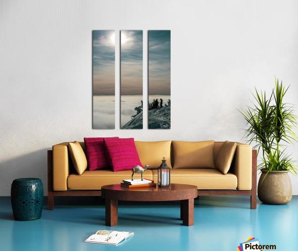 Effortless Tranquility Split Canvas print