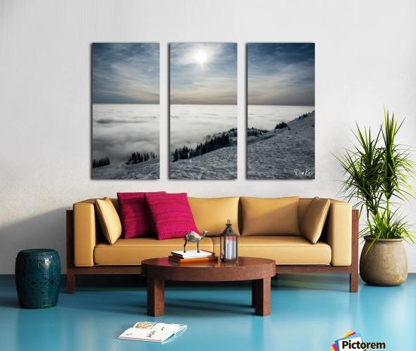 Descent to the Clouds Split Canvas print