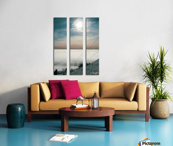 Sun Scape Split Canvas print