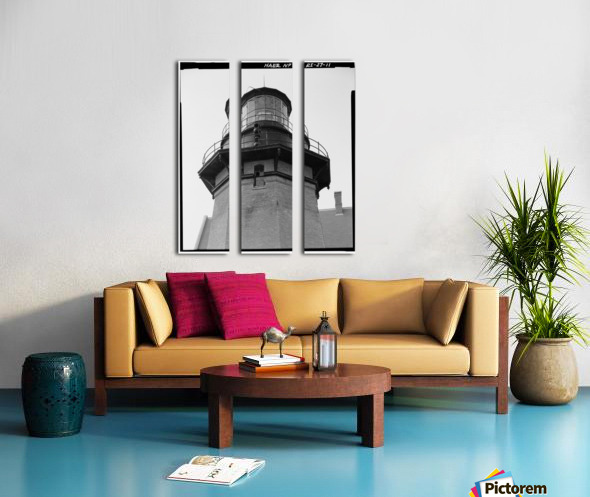 Block Island Southeast Light (Detail) Split Canvas print