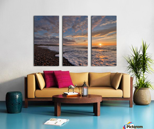 Cape Breton Pleasures Split Canvas print