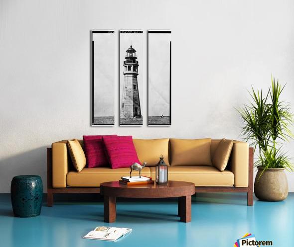 Buffalo Lighthouse, New York Split Canvas print