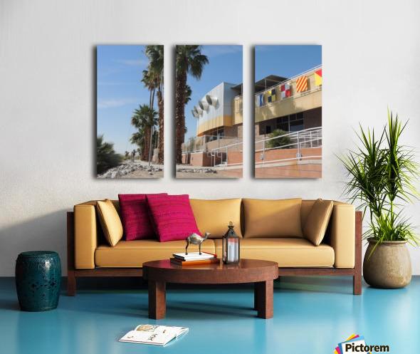 North Shore Beach & Yacht Club 2 Split Canvas print