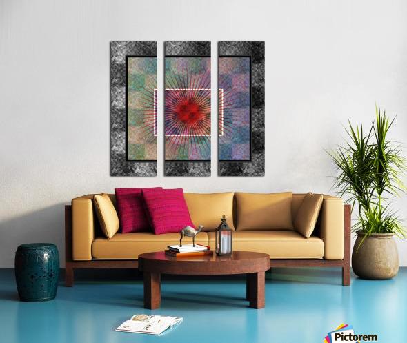 Layers of my Heart Split Canvas print
