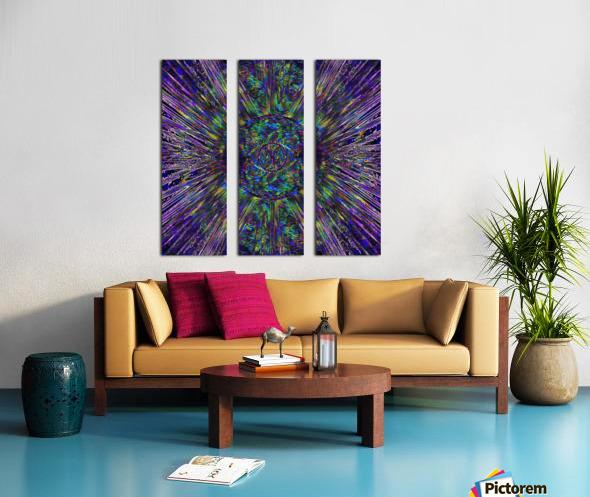 Eye of the Universe Split Canvas print