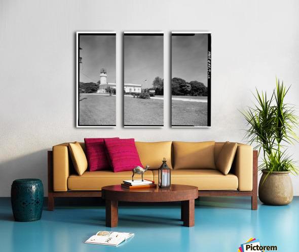 Faro de Punta Borinquen, Puerto Rico Split Canvas print