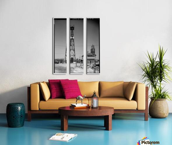 Mispillion-Beacon-Lighthouse-Delaware Split Canvas print