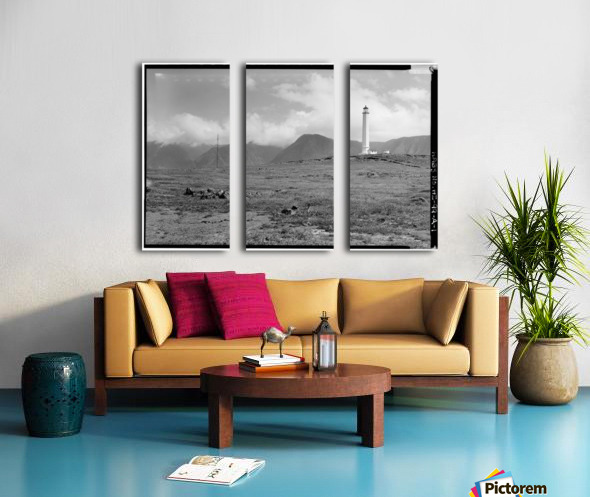 Molokai-Light-Station-HI Split Canvas print