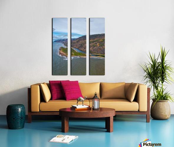 Custom Vert of Cabot Trail Split Canvas print