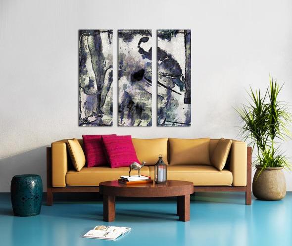 A Captive Mind Split Canvas print