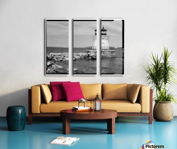Portland-Breakwater-Lighthouse-2-Maine Split Canvas print