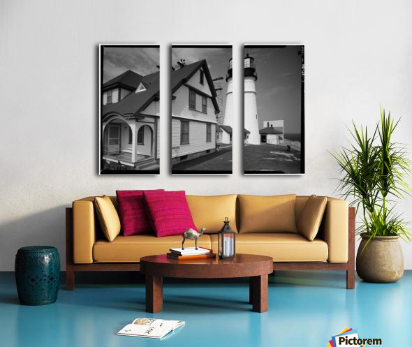 Portland-Head-Light-Maine Split Canvas print