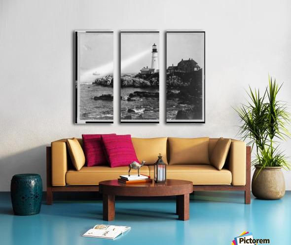 Portland-Head-Light-Portland-Maine Split Canvas print