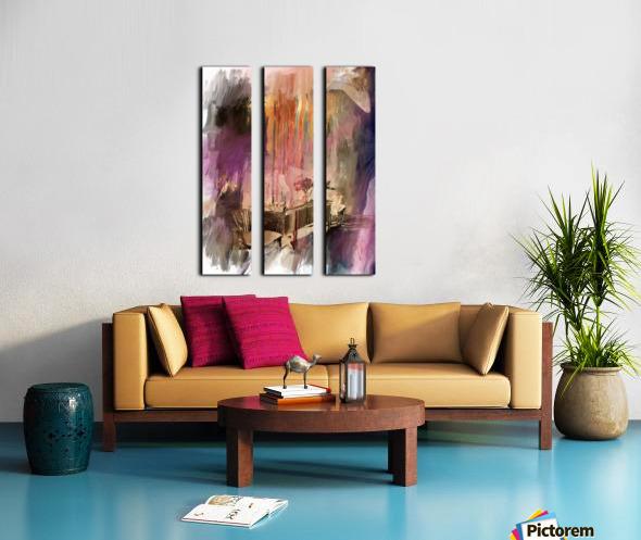 Sideboard Split Canvas print