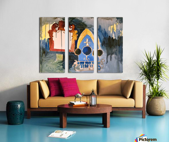 pictures in a dream Split Canvas print