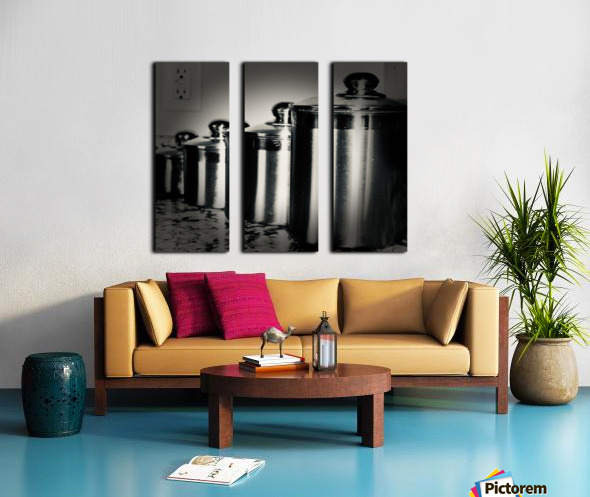 Containers Split Canvas print