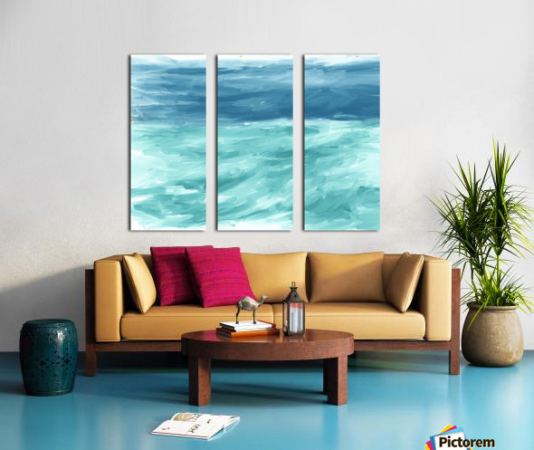 Looking for Swells Split Canvas print