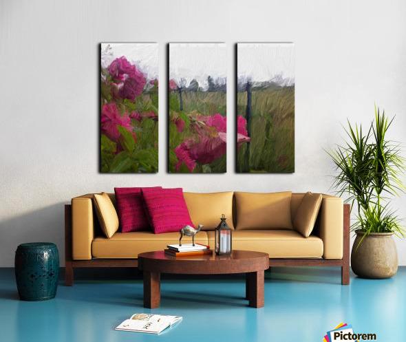 Seeing What Monet Saw Split Canvas print