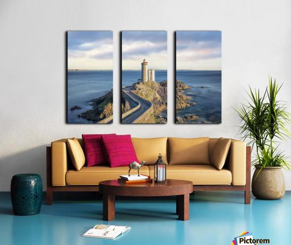 Petit Minou Lighthouse Split Canvas print