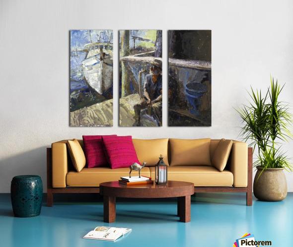 Finding Forrest Gump Split Canvas print