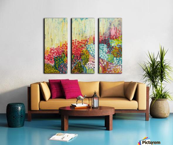 Bloom Split Canvas print