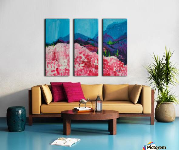 Blue Mountains Split Canvas print