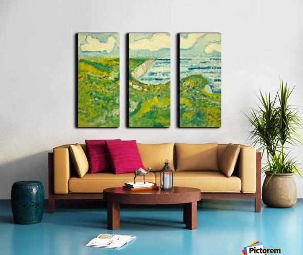 By the Sea Split Canvas print