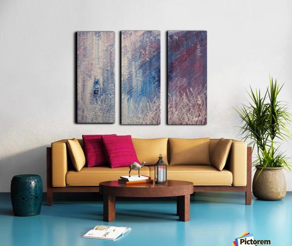 In a Hazy Place Split Canvas print